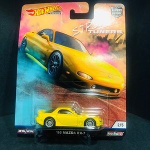 Hot Wheels Street Tuners '95 Mazda RX-7